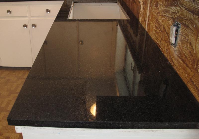 Indian Black Pearl Granite Stone Ideas Stone Floor